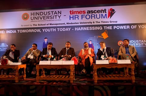Times HR Forum in Chennai on 08 Jan 2016– Shri D Peter Immanuel, CEO, AASSC as Chief Guest, Talking about Skill Development and Role of AASSC.