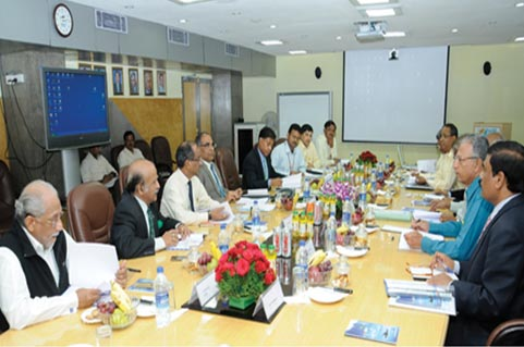 The Board Meeting of the newly constituted Aerospace and Aviation Sector Skill Council (AASSC) held at HAL Corporate Office, Bengaluru on 30 Jun 2015.